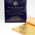 foglia oro commestibile 8x8